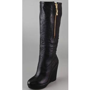 Steven Brix Wedge Boots